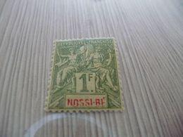 TP Colonies Françaises Nossi Bé Charnière N°39 - Nossi-Bé (1889-1901)