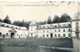 N°1355 R -cpa Habay La Neuve -château Du Pont D'Oye Et Les écuries Historiques- - Habay