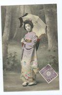 Chine  Geisha   Cachet  Tientsin 1911 - China