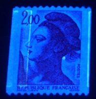 YT N° 2277 Bande Pho G + 1/2 Bande Dr - Neuf ** - Varieteiten: 1980-89 Postfris