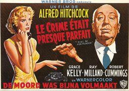 CPM - Editions F Nugeron  - E 66 - LE CRIME ETAIT PRESQUE PARFAIT, D'Alfred Hitchcock - Posters On Cards