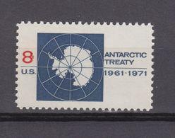 US Postal History Cover From FERRYSBURG 30-7-1971 Antarctic Treaty - Tratado Antártico