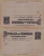 HONDURAS - ENTIER POSTAL STATIONARY CARTE POSTALE 3/3 CTVS /T131 - Honduras