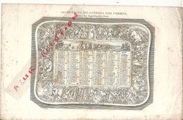 1836 . CALENDRIER DU JOURNAL DES FEMMES . 2 PAGES - Calendari