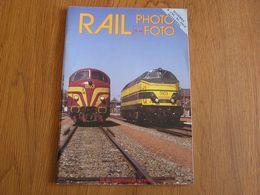 RAIL PHOTO Revue N° 14 Chemins De Fer Tram Train Tramways SNCB NMBS Locomotive Vapeur Gare Autorail CFL SNCF NS - Railway & Tramway