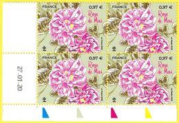 Coin Daté Neuf** Du 27.01.20 - Rose De Mai - France 2020 - Coins Datés