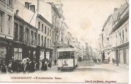 42 Borgerhout Turnhoutsche Baan Uitgeverij De Blende Tram 258 - Antwerpen