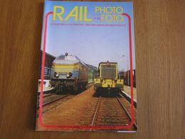 RAIL PHOTO Revue N° 16 Chemins De Fer Tram Train Tramways SNCB NMBS Locomotive Vapeur Gare Autorails Fagnard Vicinal - Railway & Tramway
