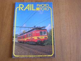RAIL PHOTO Revue N° 17 Chemins De Fer Tram Train Tramways SNCB NMBS Locomotive Vapeur Gare Autorails Tram 62 CFV3V - Railway & Tramway