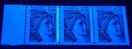 YT N° 2058 + 2058a - Normal +Pho Très Léger + Sans Pho - Neufs ** - Variedades: 1970-79 Nuevos