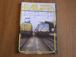 RAIL PHOTO Revue N° 18 Chemins De Fer Tram Train Tramways SNCB NMBS Locomotive NS Vapeur Gare Autorails Automotrices L - Railway & Tramway