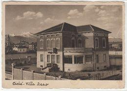 CIRIE' TORINO VILLA LESO - CARTOLINA SPEDITA NEL 1935 - Autres Villes