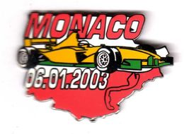 Pin's F1 Formule 1 Monaco  2003  EGF - F1
