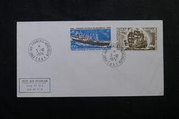 T.A.A.F.- Enveloppe FDC En 1974 - Bateaux. - L 63937 - FDC