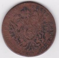 Austria. 6 Kreuzer 1800 E (Karlsburg) Franz II . KM# 2128 - Oesterreich