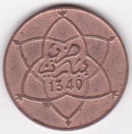 MAROC. 5 MOUZOUNAS AH 1340 PARIS. MOULAY YUSSEF - Marokko