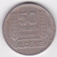 Algerie. 50 Francs Turin 1949 , Cupronickel , KM# 92 - Algérie
