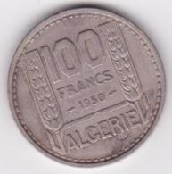 Algerie. 100 Francs Turin 1950 , Cupronickel , KM# 93 - Algeria