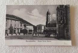 Cartolina Illustrata Roccamonfina Piazza Nicola Amore - Non Viaggiata - Other Cities
