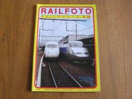 RAIL PHOTO Revue N° 20 Chemins De Fer Tram Train Tramways SNCB NMBS Locomotive Type 204 Automotrices Postales Poste - Railway & Tramway