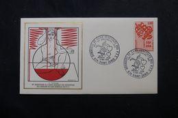RÉUNION - Enveloppe FDC En 1972 - Don Du Sang - L 63944 - Storia Postale