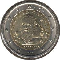 IT20014.1 - ITALIE - 2 Euros Commémo. Galilée - 2014 - Italie