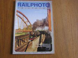 RAIL PHOTO Revue N° 20 Chemins De Fer Tram Train Tramways SNCB NMBS Locomotive Liège Acoz Série 60 - Railway & Tramway