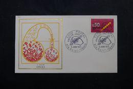 RÉUNION - Enveloppe FDC En 1972 - Code Postal - L 63945 - Storia Postale