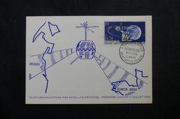 RÉUNION - Carte FDC En 1963 - Satellite - L 63946 - Storia Postale