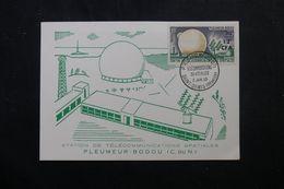 RÉUNION - Carte FDC En 1963 - Pleumeur Bodou - L 63947 - Storia Postale