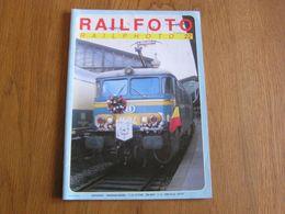 RAIL PHOTO Revue N° 22 Chemins De Fer Tram Train Tramways SNCB NMBS Locomotive Autorail Automotrice Rame - Railway & Tramway
