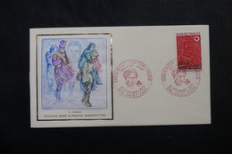 RÉUNION - Enveloppe FDC En 1972 - Croix Rouge - L 63948 - Storia Postale