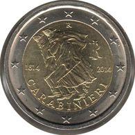 IT20014.2 - ITALIE - 2 Euros Commémo. Arma Dei Carabinieri - 2014 - Italie
