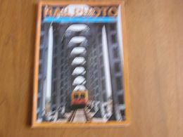 RAIL PHOTO Revue N° 23 Chemins De Fer Tram Train Tramways SNCB NMBS CFL Locomotive Autorail Automotrice Rame - Railway & Tramway