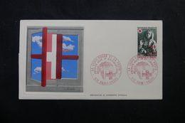 RÉUNION - Enveloppe FDC En 1973 - Croix Rouge - L 63950 - Storia Postale