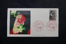 RÉUNION - Enveloppe FDC En 1973 - Croix Rouge - L 63951 - Storia Postale
