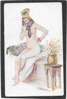 """SUZANNE MEUNIER - Femme Nue, Col En Fourrure """"Frileuse"""" - Meunier, S."""
