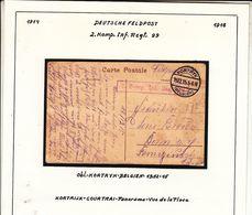 GUERRE  1914/ 1918  DEUTSCHE    FELDPOST   Voir  Csan - Weltkrieg 1914-18