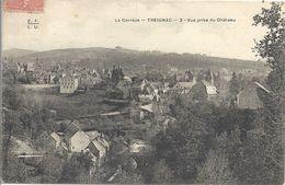 CPA Treignac Vue Prise Du Château - Treignac