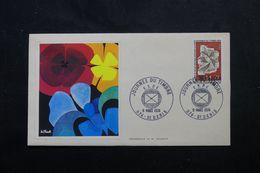 RÉUNION - Enveloppe FDC En 1974 - Journée Du Timbre - L 63953 - Storia Postale