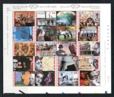 BE  BL87   XX    ----     Le Tour Du 20 ème Siècle En 80 Timbre  --  Impeccable... - Blocks & Kleinbögen 1962-....
