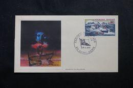 RÉUNION - Enveloppe FDC En 1974 - Sauveteurs En Mer - L 63955 - Storia Postale