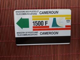 Phonecard Cameroon 1500 F Used Rare ! - Camerún