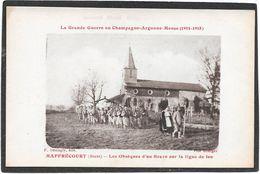 51 MAFFRECOURT - Obsèques D'un Brave Sur La Ligne De Feu - Grande Guerre Champagne Argonne Meuse - France