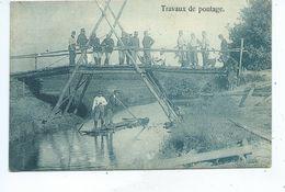 Leopoldsburg Bourg Leopold Camp De Beverloo  Travaux De Pontage - Leopoldsburg (Camp De Beverloo)