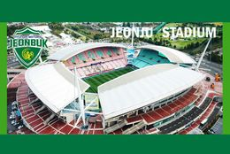 CP.STADE . JEONJU  COREE  DU  SUD  JEONJU  WORLD  CUP  STADIUM #  CS. 789 - Football