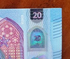 20  France Draghi U031H5/UE3750572924 UNC - EURO