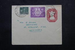 INDE - Entier Postal + Compléments De Narela  Pour Le Danemark En 1967 - L 63960 - Briefe