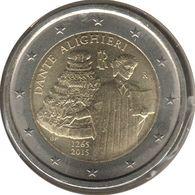 IT20015.2 - ITALIE - 2 Euros Commémo. Dante Alighieri - 2015 - Italie