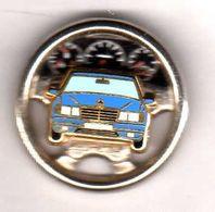 Pin's  Mercedes Bleu   Zamac Arthus Bertrand - Arthus Bertrand